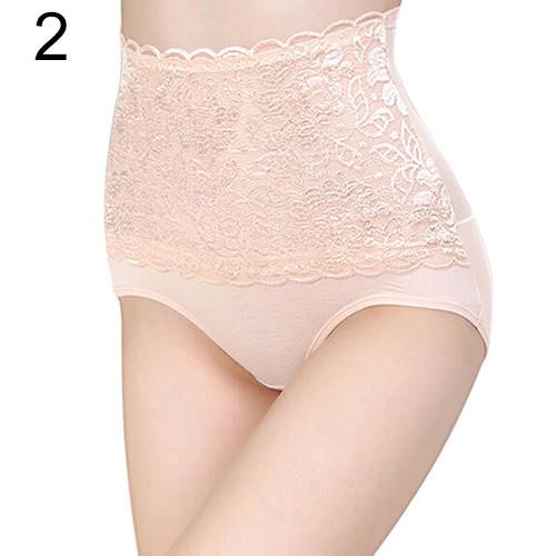 Women's Lace Floral Body Shaper Tummy Control Panties - FREE SHIPPING