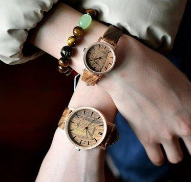 WOOD DESIGN  WATCH WOODEN WATCHES THEBEZ KOREAN