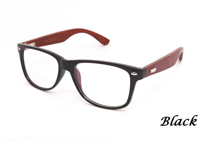 Wooden Spectacle Glasses Eyewear Cermin Mata Frame F007 ...