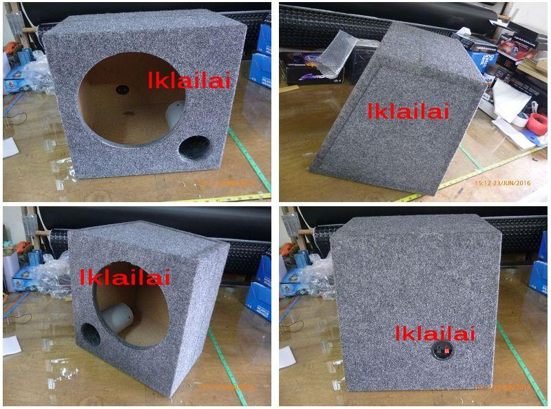 Woofer Box 10 inch With Carpet