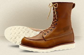 Work Boots Red Wing Classic 8 Inch Brown 877