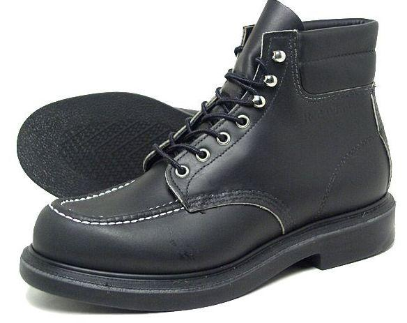 Red Wing Black Work Boots