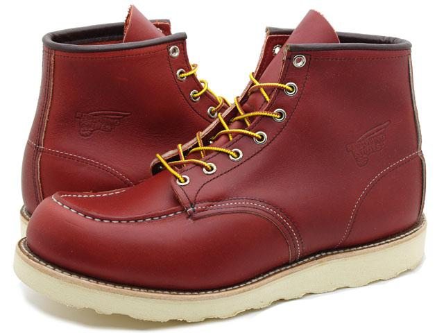 Work Boots Red Wing Lifestyle 6 Inch Brown Oro Russet Portage 8131