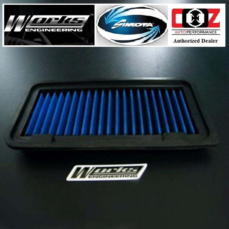 WORKS DROP IN AIR FILTER TOYOTA CAMRY 01-02 WISH ALTIS CALDINA 02+