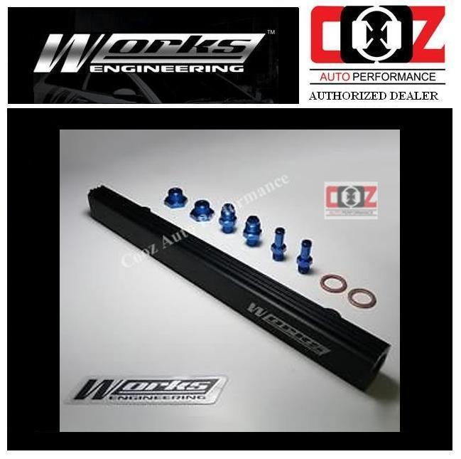 WORKS ENGINEERING FUEL RAIL KIT  MIT 4G91/4G92/4G93 WIRA 1.6/1.8 GSR