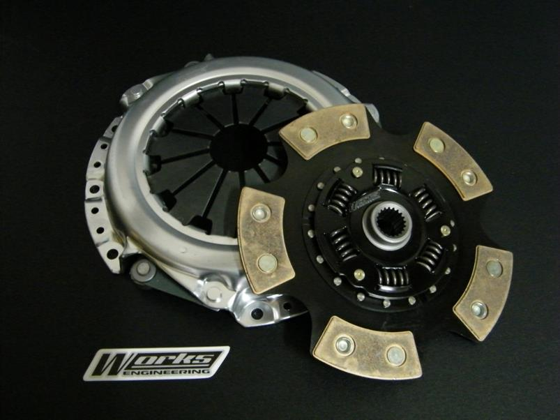 WORKS ENGINEERING PRO 400 RACING CLUTCH TOYOTA AE92/AE101/AE111 4A-GE