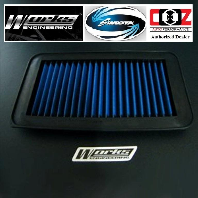 WORKS ENGINEERING SIMOTA DROP IN AIR FILTER PERODUA MYVI VIVA 1.0