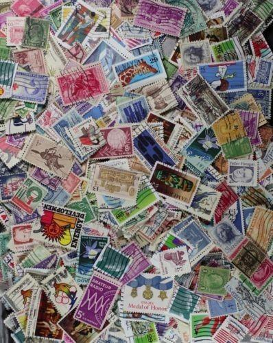 World Stamps in mix 500 pcs Lot 500a