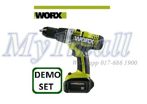 WORX WU166 13MM 18V DRILL / DRIVER-DEMO