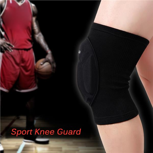 Wosawe Knee Guard Sleeve Pad Basketball Pad Protector Elastic