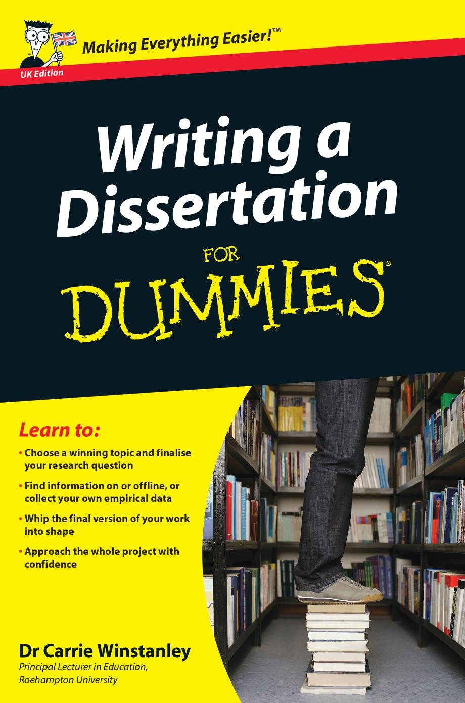 Dissertation writing grant dummies 6th edition