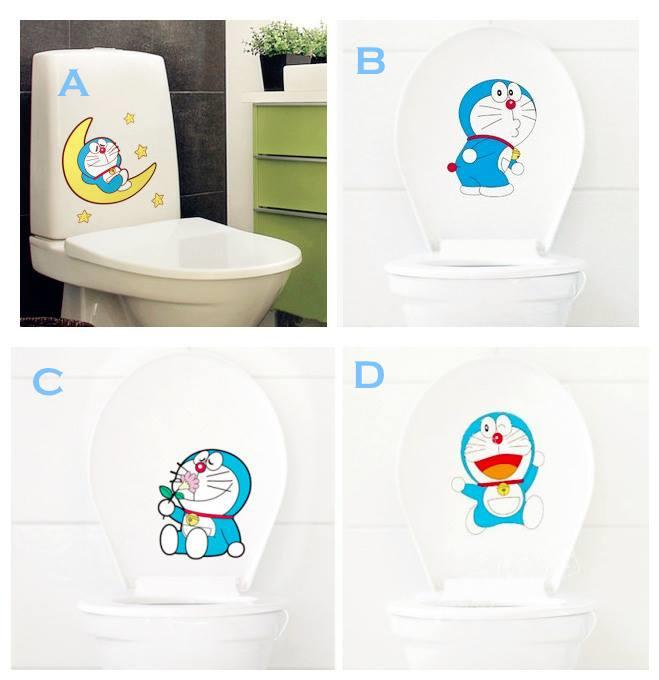 WS0288 ICONIC DORAEMON TOILET STICKER