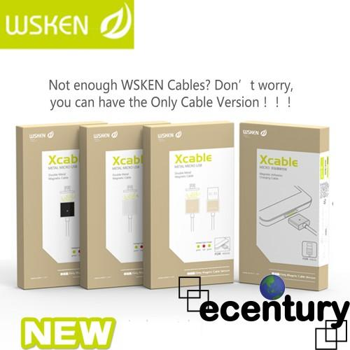 WSKEN Micro Magnetic USB X-Cable - Only Cable Version