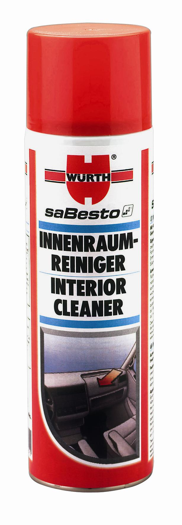 wurth interior cleaner special cleaning foam for end 11 14 2015 8 15 00 pm. Black Bedroom Furniture Sets. Home Design Ideas
