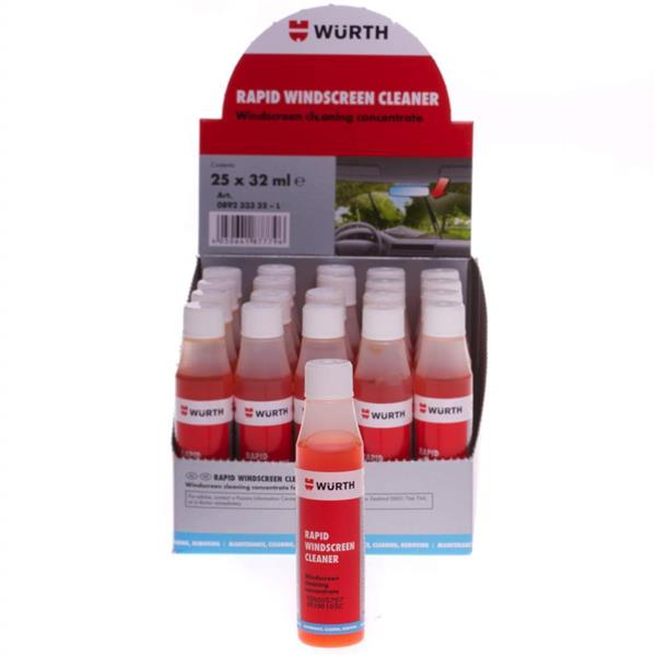 Wurth Rapid Windscreen Cleaner 32ml