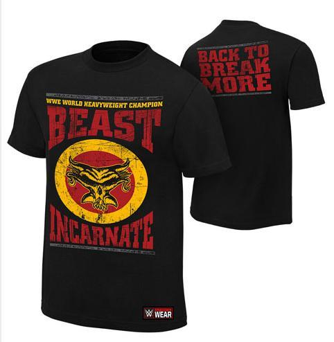 WWE Brock Lesnar Beast Incarnate Official T Shirt