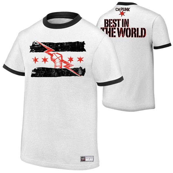 WWE CM Punk Best in The World Official T Shirt