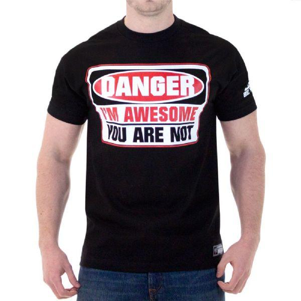 WWE DANGER I'm Awesome You Are Not T-Shirt