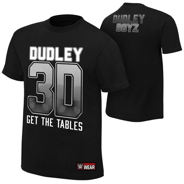 WWE The Dudley Boyz Get The Tables T Shirt