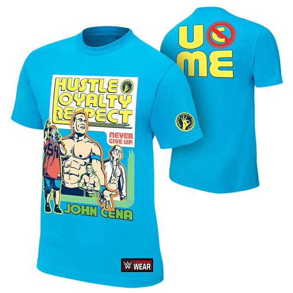 WWE John Cena Throwback Official T Shirt