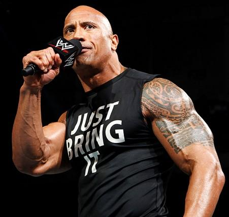 WWE The Rock Sleeveless Singlet (Jus (end 4/29/2018 6:15 PM)
