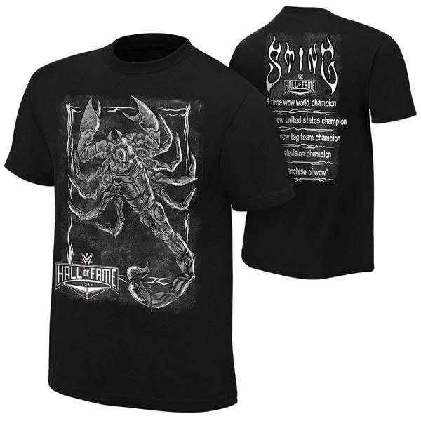 WWE Sting Hall of Fame 2016 T Shirt