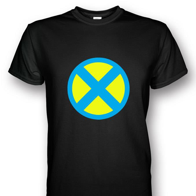 X-men Logo T-shirt Blu...