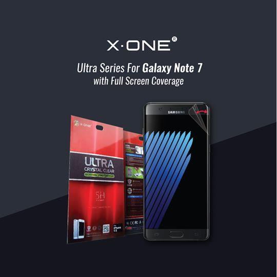 X-One Ultra Series Screen Protector (Samsung Note7, 7Edge, Oppo)