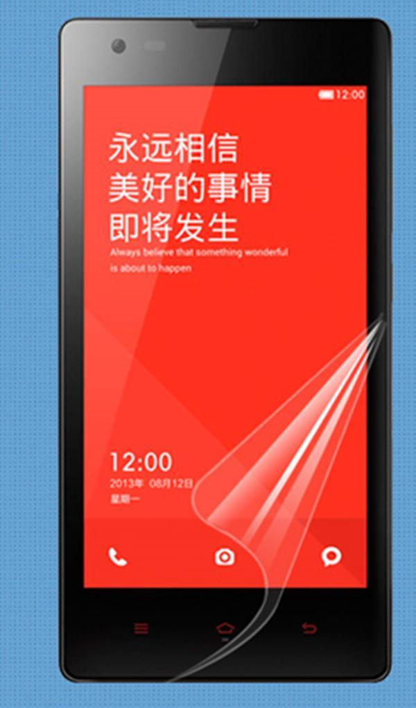 x1 Top Grade Ultra CLEAR Screen Protector Guard Film For Redmi Hongmi