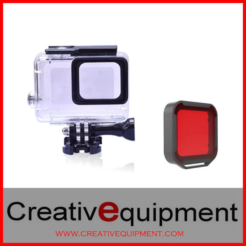 X2 Gopro Hero 5 Underwater Casing *Free Red Dive Filter