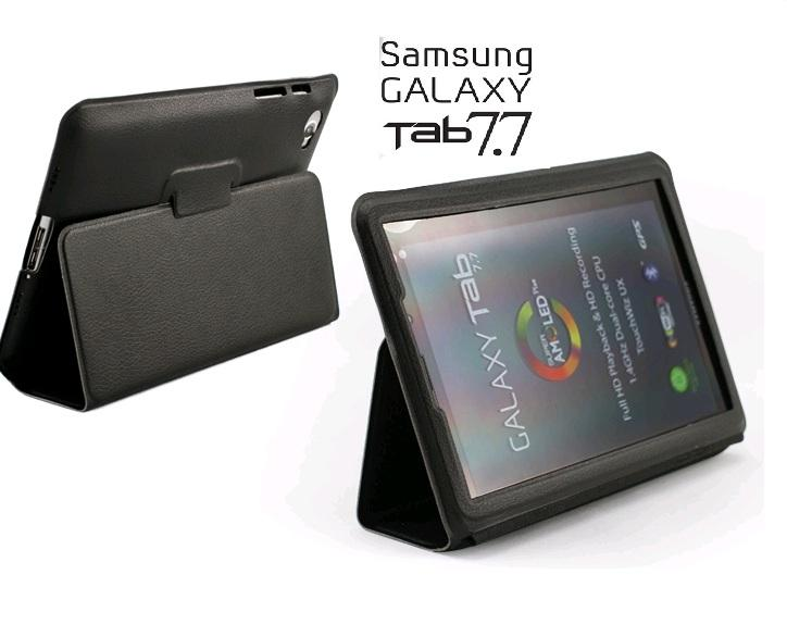 XBase Slim leather Case for Samsung Galaxy Tab 7.7 P6800 / P6810 bag p