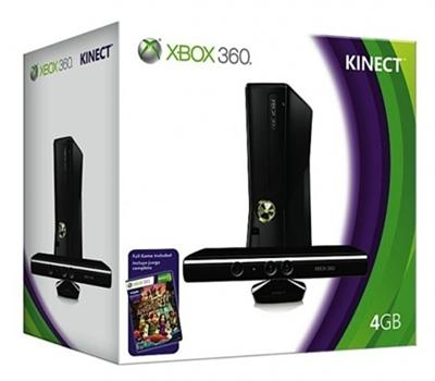 Xbox 360 4GB with Kinect Bundle (Selangor, end time 3/1/2013 6:15:00