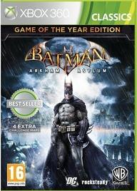 XBOX 360 GAME :: BATMAN : AA GAME OF THE YEAR :: NEW & SEALED