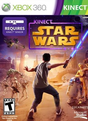 XBOX 360 GAME :: KINECT STAR WARS :: NEW AND SEALED