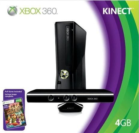 XBOX 360 SLIM 4GB KINECT BUNDLE :: SINGAPORE SET
