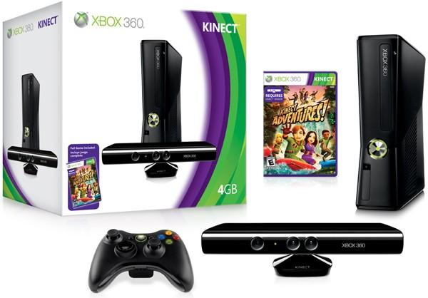 XBOX 360 SLIM 4GB WITH KINECT FULL PACKAGE WITH OFFER PRICE !!!!