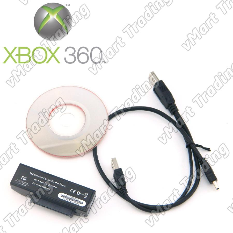 XBOX 360 Slim USB Hard Drive Data Transfer Cable