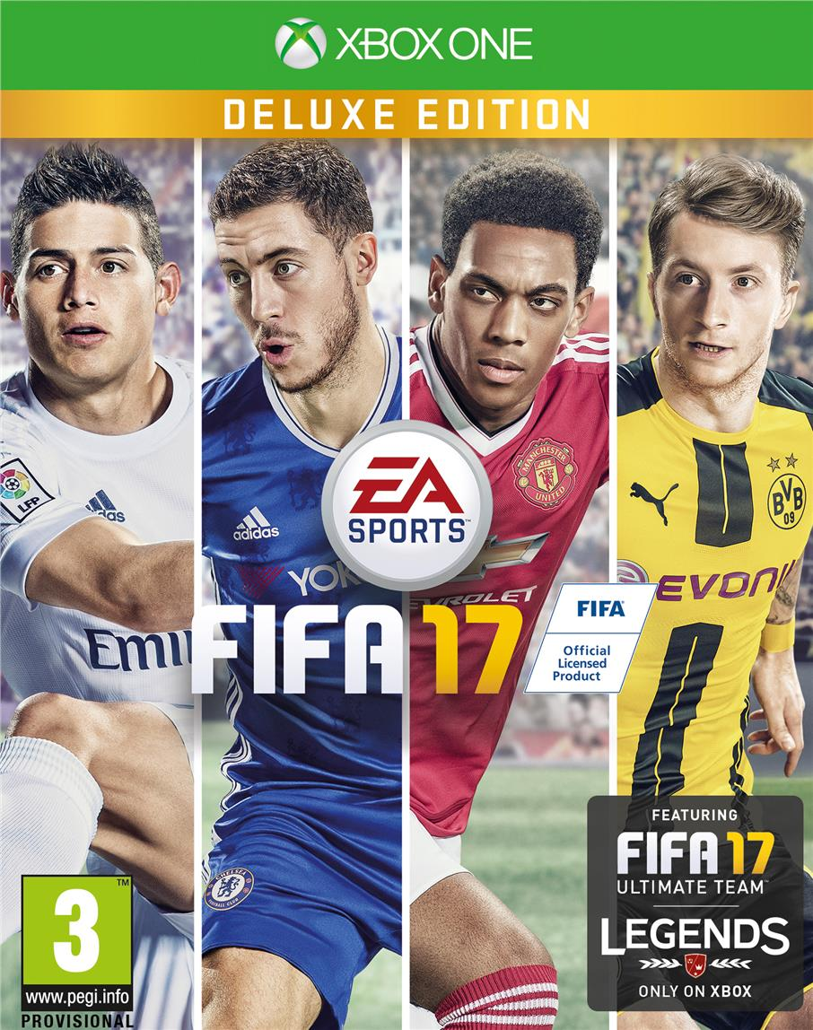 Xbox One FIFA 17 Deluxe Edition English