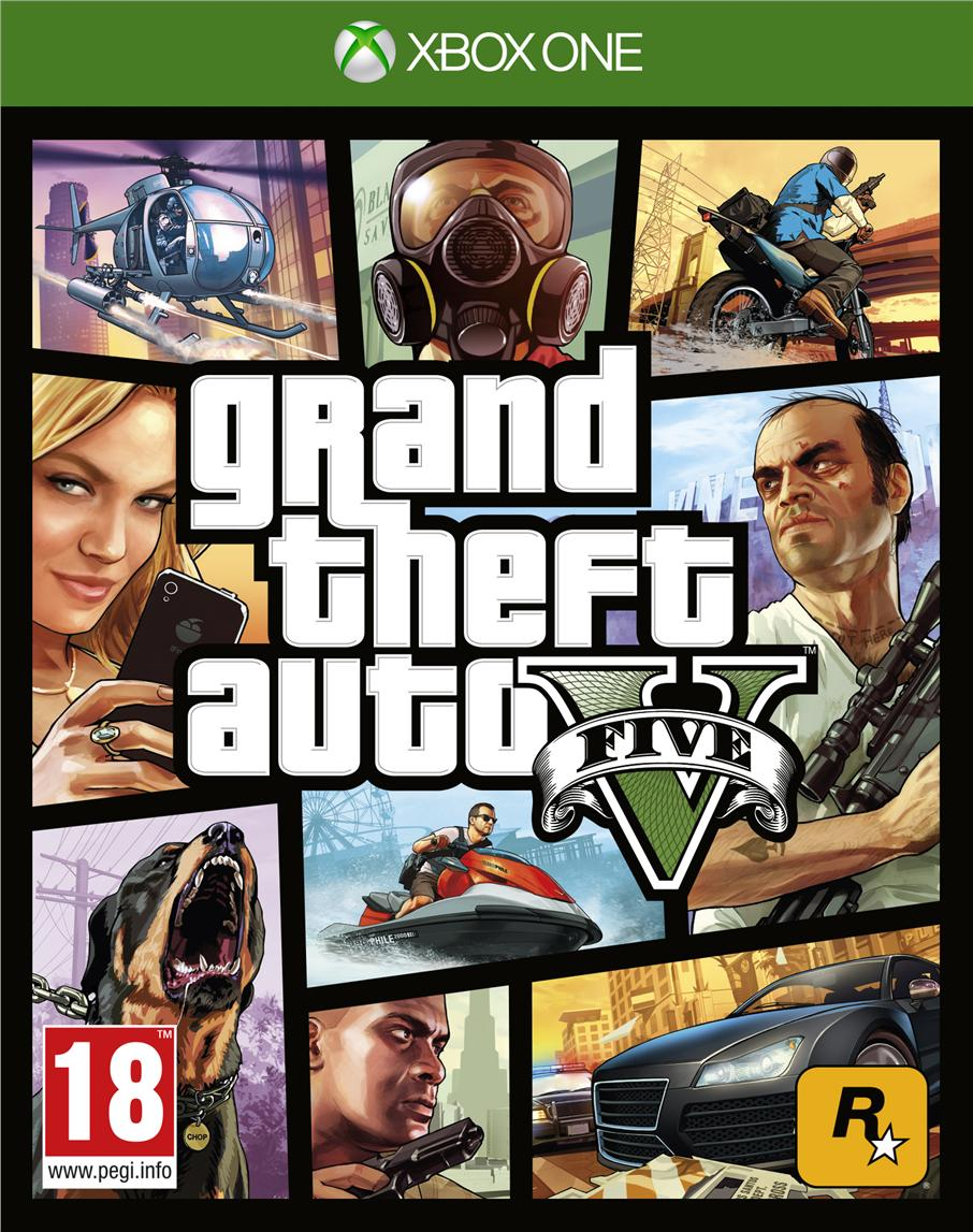 Xbox One GRAND THEFT AUTO V-GTA V-Asia