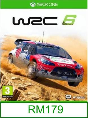 XboxOne WRC 6 ★Brand New & Sealed★