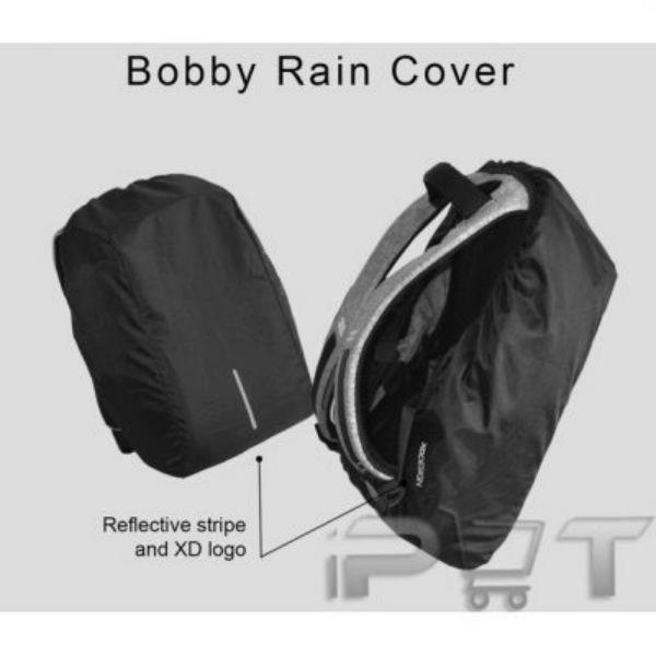 XD DESIGN Bobby Bag , The best Anti Theft Backpack !! RAIN COVER