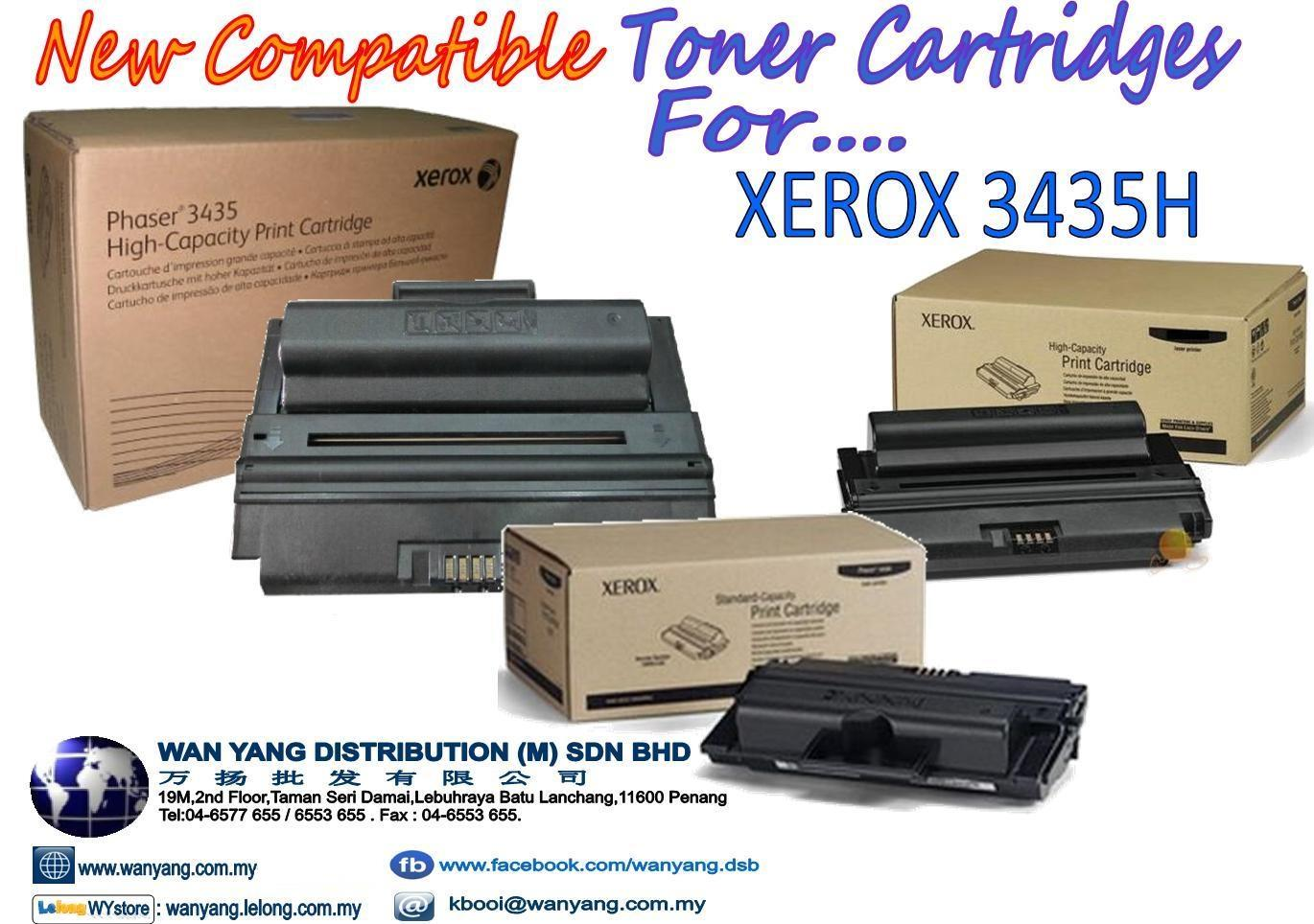 XEROX  3435H Compatible Toner cartridges