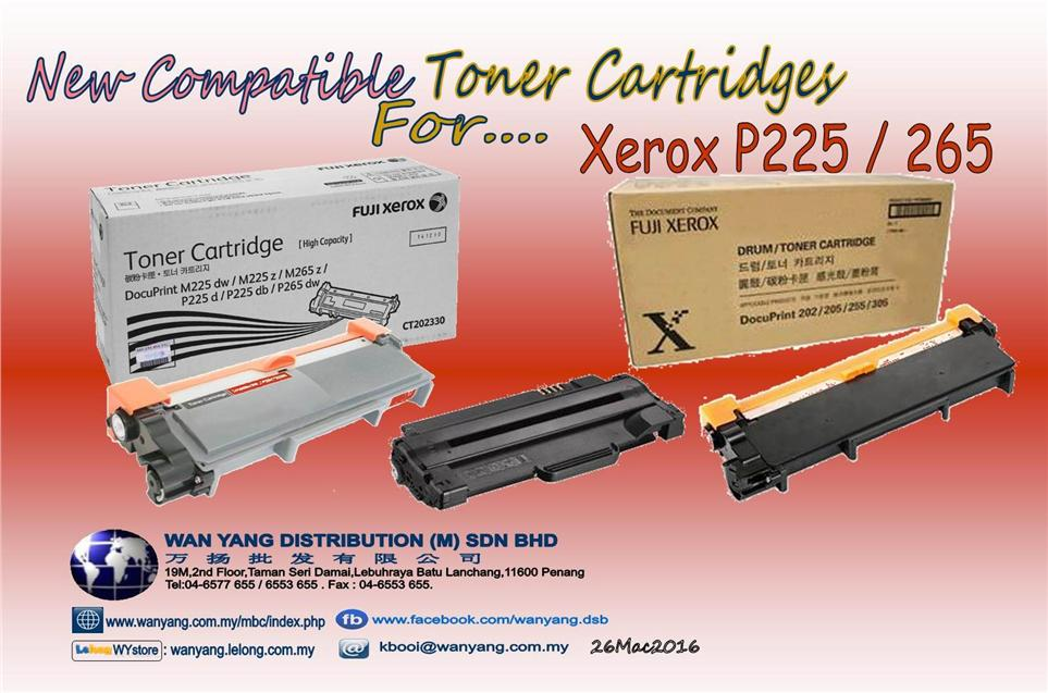 Xerox P225/P265 Compatible Toner cartridges