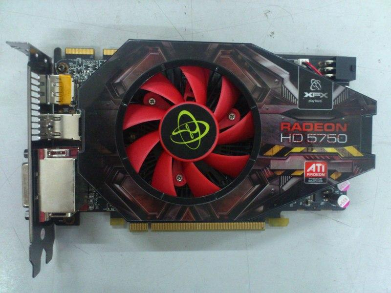XFX ATI Radeon HD5750 1GB DDR5 PCI-E GC 210912