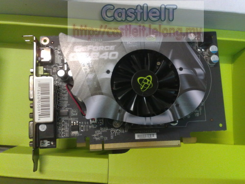 XFX Nvidia GeForce GT240 1GB DDR5 (128bit) PCI-E Graphic Card