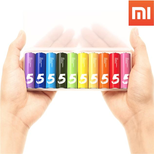 XiaoMi High Quality Colourful AA Battery
