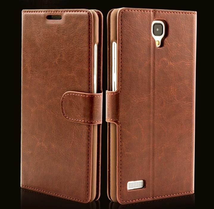 Xiaomi Hongmi Redmi Note Flip PU Leather Case Cover Casing +Gift