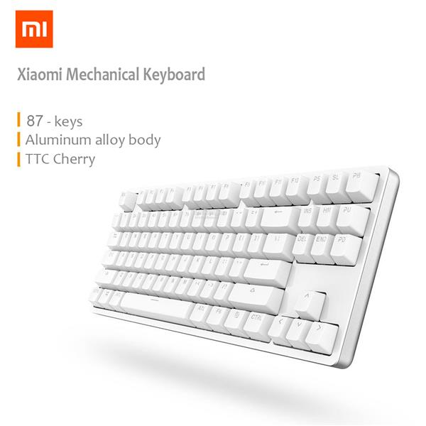 XIAOMI Mi Mechanical Keyboard 87 Keys Gaming Cherry Red LED Backlit