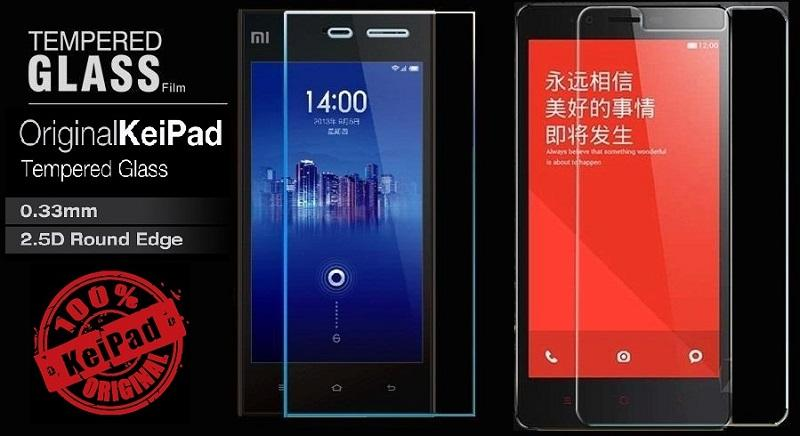 XiaoMi MI3 Screen Protector Tempered Glass 0.33mm Round Edge 2.5D