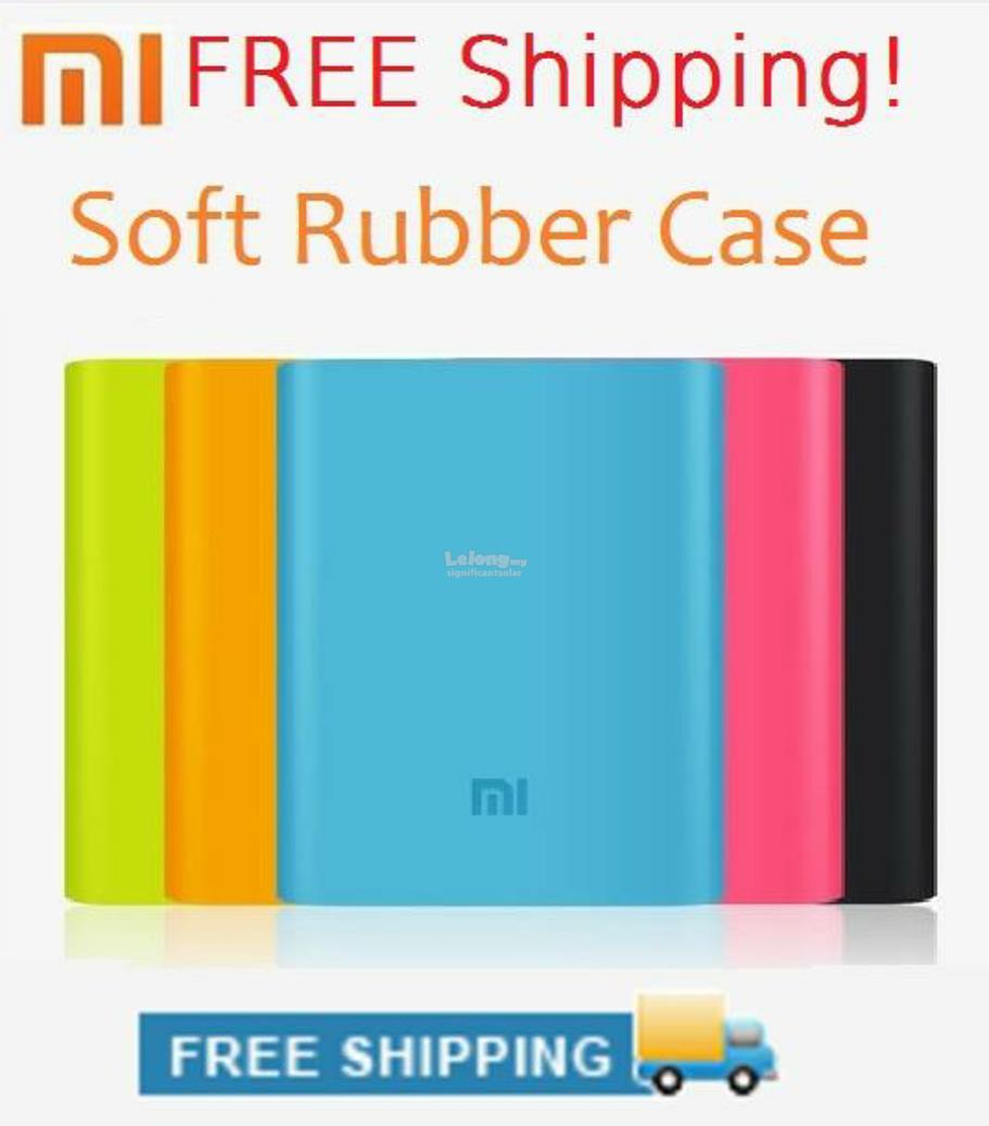 Xiaomi Power Bank 10400mAh  + Free Sillion cover case